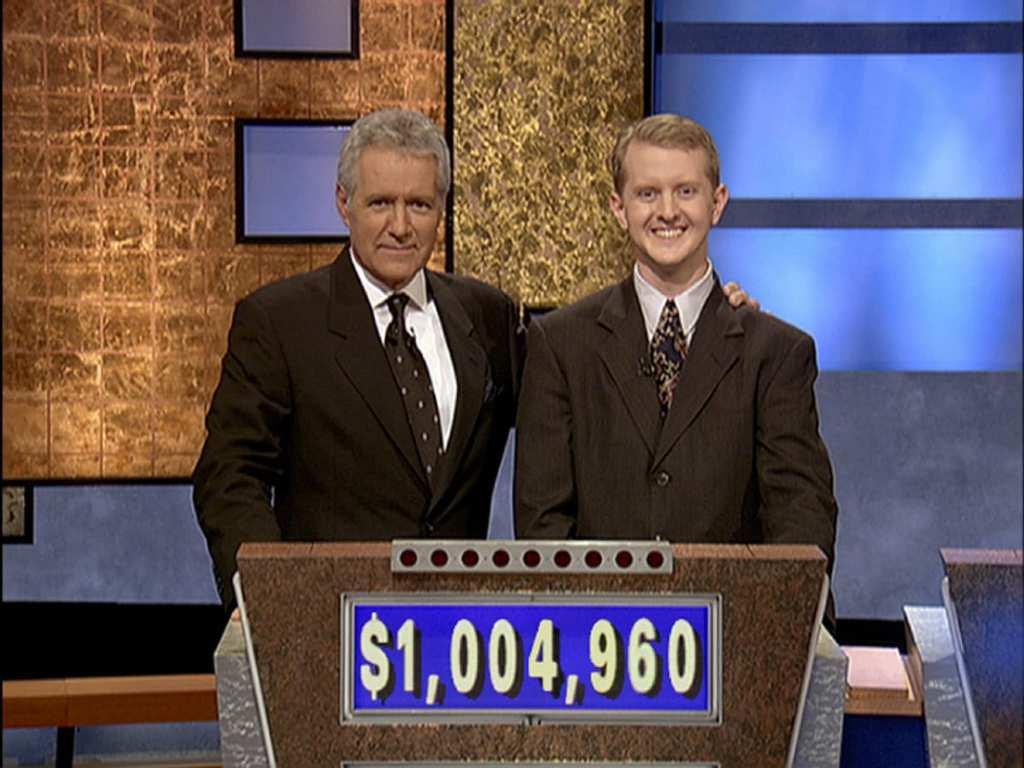 Celebrity jeopardy with real alex trebek