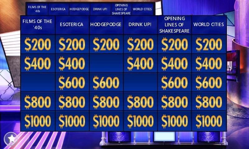 Celebrity jeopardy final