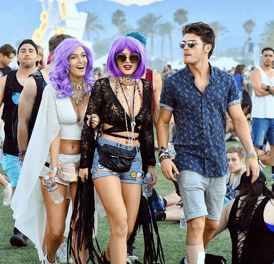 All the Best Celebrity Looks From Coachella 2019 - elle.com